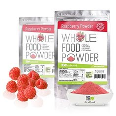 95273f9c50 Premium Raspberry Fruit Powder Bulk Pouches 100 Whole Natural Raspberries  No Added Ingredients High in Fiber Vitamin C and Manganese Delicious in  Smoothies ...