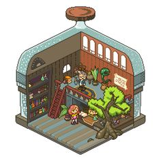 @Pixel_Dailies, got a potion in there? Tried to follow #cocefi style! Great artist btw!! #pixel_dailies #pixelart