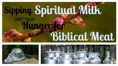 Sipping Spiritual Milk vs. Hunger for Biblical Meat