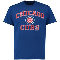 Chicago Cubs Majestic Heart and Soul T-Shirt - Royal
