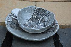 dekoracje z betonu, wzór koronki Plates, Tableware, Art, Licence Plates, Art Background, Dishes, Dinnerware, Griddles, Tablewares