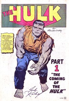 The Incredible Hulk #001(1962) part 1