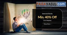 Snapdeal Offer: Get Minimum 40% Off On Selected Books.  http://www.paisavasul.com/code/snapdeal-offer-minimum-40-off-on-selected-books