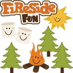 Fireside Fun - SVG files for scrapbooking
