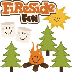 Fireside Fun - SVG files for scrapbooking