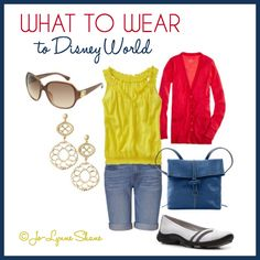 What to Wear to Disney World: I'm breaking it down. Easy, wearable outfits for theme park visits that are cute and comfortable.