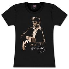 Elvis Young and Live Ladies T-shirt Elvis Presley, T Shirts For Women, Tees, Lady, My Style, Mens Tops, Shopping, Clothes, King