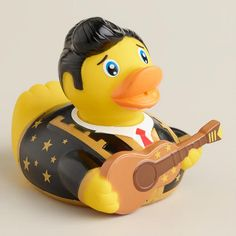 Book of Life Manolo Rubber Duck Bath Toy at Cost Plus World Market >> #WorldMarket Book of Life Shop