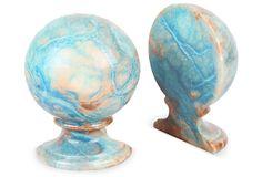 Marble Bookends on OneKingsLane.com