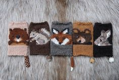 """sosuperawesome: """" Fingerless Gloves Knitting Patterns Tiny Owl Knits Patterns on Etsy See our or tags """" Animal Knitting Patterns, Knitting Charts, Knitting Yarn, Knit Patterns, Knitting Machine, Hedwig, Knit Picks, Moda Emo, Stockinette"""