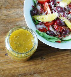 Greek Salad Dressing - Italian Salad Dressing