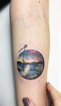 Awesome Tattoos by Amazing Artist Eva Krbdk - TheTatt Pretty Tattoos, Cute Tattoos, Beautiful Tattoos, Tattoos For Guys, Awesome Tattoos, Chic Tattoo, 1 Tattoo, Tattoo Quotes, Star Tattoos