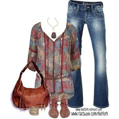 """""""Belted 3/4 Sleeve Printed Tunic"""""""