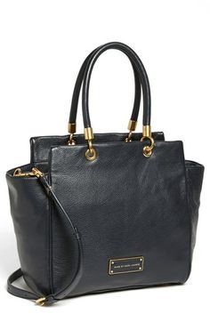 MARC BY MARC JACOBS 'Too Hot To Handle - Bentley' Leather Tote available at #Nordstrom