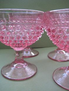 Anything better than Pink Hobnail Fenton!? by jenscloset, via Flickr