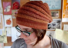 Ravelry: WURM hat pattern by Katharina Nopp (there's a beautiful cowl too! Beanie Knitting Patterns Free, Loom Knitting, Free Knitting, Hat Patterns, Knit Crochet, Crochet Hats, Cable Knit Hat, Slouchy Hat, Knitting For Beginners