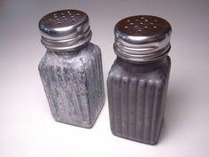 Beton Salz und Pfeffer Shaker Set  Urban Fossil  Spice von elswago