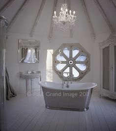 english country house bathrooom