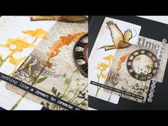 Prima Carte Blanche Frame with Shari Carroll - YouTube