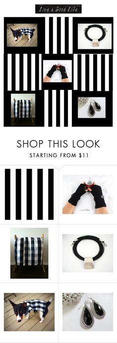 """""""Stripes"""" by therusticpelican ❤ liked on Polyvore featuring Tempaper, Tela Beauty Organics, Creative Co-op, modern, contemporary, rustic and vintage"""