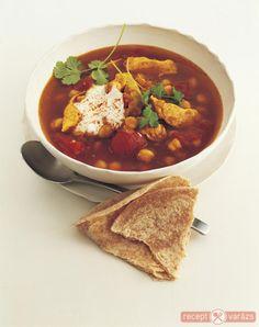 Pikáns indiai csirkehúsleves recept Készítsd el akár 2, vagy 12 főre, a Receptvarazs.hu ebben is segít! Naan, Chana Masala, Thai Red Curry, Ethnic Recipes, Food, Essen, Meals, Yemek, Eten