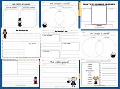 Second Grade Sugar and Spice: My Teacher Is Missing! Sub Plan Pack *freebie*