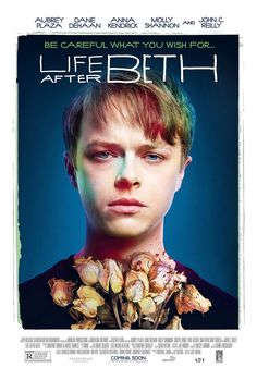 """Exclusive: Aubrey Plaza and Dane DeHaan in Posters for Zombie RomCom """"Life After Beth""""