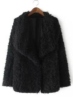 Manteau en fausse fourrure #codepromo #SammyDress