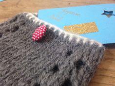 Jour 20 : petite pochette au tricot par Les P'tites choses d'Emma #lenoeldesblogsnantais