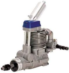 """Magnum XL 52 RFS Blue -R/C 4 Stroke Engine (RC) by Magnum. $183.99. Weight: 15.7 oz    Exhaust thread size: M10 x 0.75. Bore: 23mm. Displacement: 52ci (8.53cc). Practical RPM: 2,000 - 10,500. Stroke: 21mm. This is the perfect engine for """"""""40"""""""" size two-stroke aircraft which can handle the slightly bigger size and weight of a four-stroke engine. This is probably the best sub-60 size sport four-stroke ever designed!."""