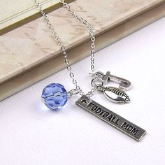 Personalized Football Mom Necklace with Your by InitiallyCharming, $10.00