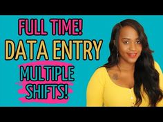 👀 WILL NOT LAST!! DATA ENTRY WORK FROM HOME JOB! MINIMAL EXPERIENCE NEEDED! - YouTube Job Coaching, Flexible Working, Data Entry, Work From Home Jobs, Minimal, Youtube, Data Feed, Youtubers, Youtube Movies