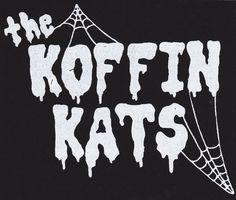 KOFFIN KATS WEB LOGO PATCH $4.00 #koffinkats #rockabilly #psychobilly #patch