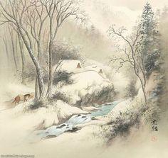 Inspirational Landscape Paintings by Koukei Kojima ~ Cool Stuff Directory