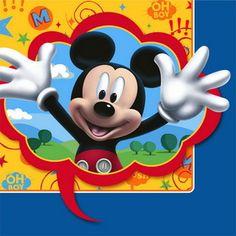 Hallmark 221686 Disney Mickey Fun and Friends Lunch Napkins #Disney