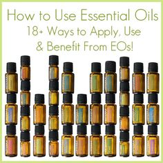 Essential Oil Application Guide