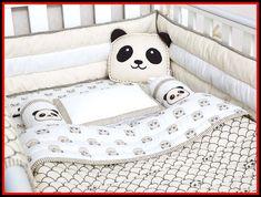 Modern Panda Organic Cot Bedding Set - Choosing A Baby Name - ideas of Choosing A Baby Name - Peekaboo Panda-Organic Crib Bedding Set Baby Bedding Set Baby Blanket Baby Bedding Baby Crib Panda Crib Set Gender Neutral Bedding Set