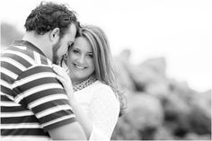 Newport News Beach Engagement Photography | Anna Grace Photography