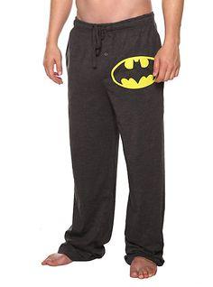 DC Comics Batman Logo Men's Pajama Pants | Hot Topic