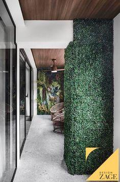 "How to Create a ""Balcony"" When You Don't Have One Interior Design Website, Home Interior Design, Vertical Garden Wall, Renovation Budget, Ceiling Design, Design Firms, Home And Living, Outdoor Gardens, Balcony"