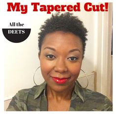 AGrlCanMAC: Tapered Cut /// The Deets on My New Hair Cut! #shortnaturalhair #taperedcut #taperedcuts #thecutlife