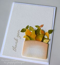 Fall Pears    by Marybeth Lopezby the Poppystamps Design Team