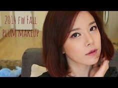 "2014 F/W Trend color PLUM makeup! 트렌드 컬러 ""플럼"" 메이크업"