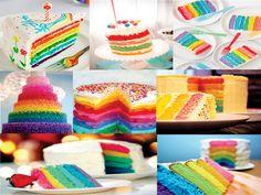 bolo festa colorido - Pesquisa Google