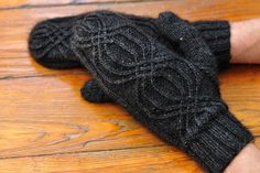 Mysterious Mittens knitting pattern $4.00 on Craftsy at http://www.craftsy.com/pattern/knitting/accessory/mysterious-mittens/119