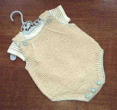 Ravelry: fairynuff27's Small baby romper