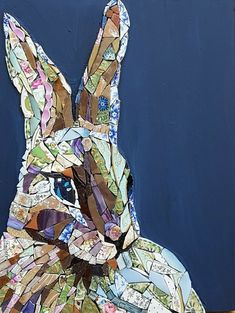 Image result for mosaic hare