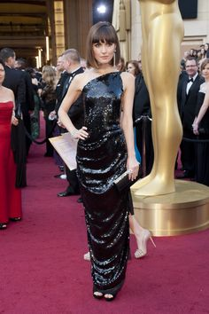 Fashion Police at the 2012 Oscars: Rose Byrne in Vivienne Westwood ...