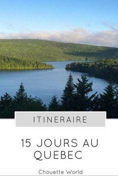 15 jours au Quebec : itinéraire Voyage Montreal, Saguenay Quebec, Pvt Canada, Travel Around The World, Around The Worlds, Lets Run Away, Photos Voyages, Blog Voyage, List