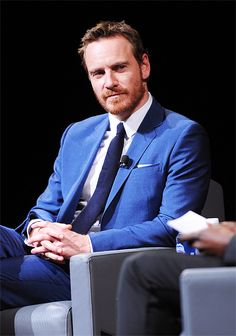 """fassysource: """" Michael Fassbender speaks onstage at the TIFF Soiree during the 2016 Toronto International Film Festival at TIFF Bell Lightbox on September 7, 2016 in Toronto, Canada. """""""